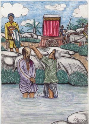 Kamerun-Karten Philippus und der Kämmerer