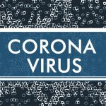 Schriftzug Corona Virus