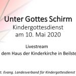 Ankündigung Livestream Kindergottesdienst