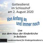Titel Gottesdiest 2 August