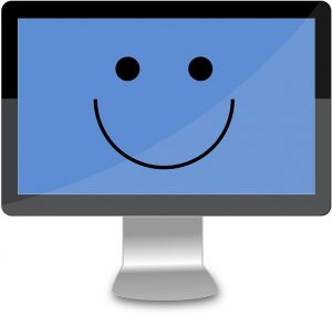 computer smiley